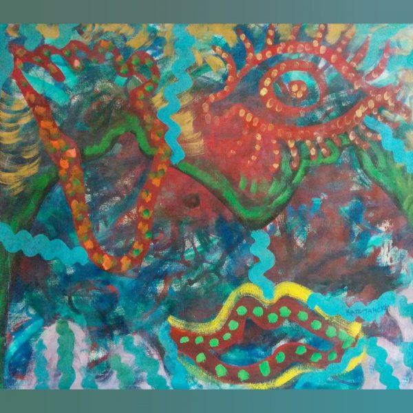 Art, Paintings for sale, Картини за продажба,Disco euphoria (Дискотечна еуфория)