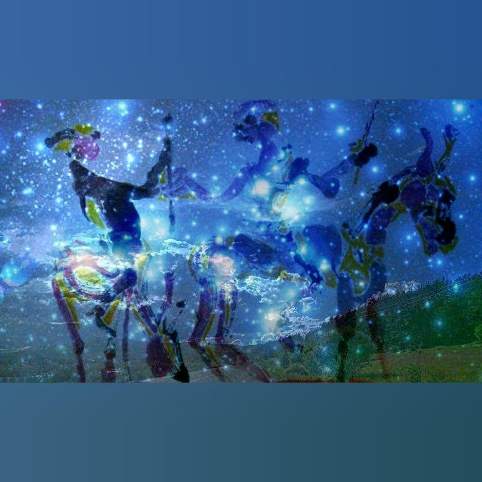 Art, Paintings for sale, Картини за продажба,Don Quijote und Sancho Pansa (Дон Кихот и Санчо Панса)