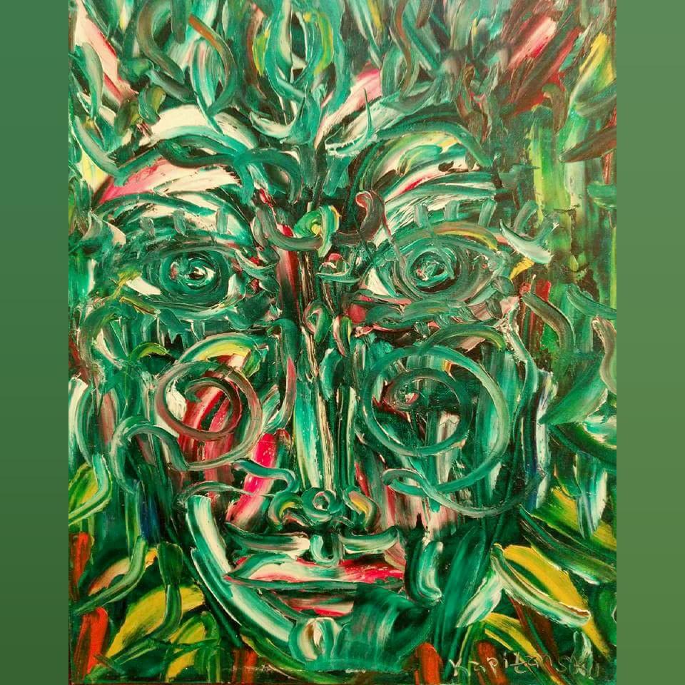 Art, Paintings for sale, Картини за продажба,Emerald healer (Изумруденият лечител)