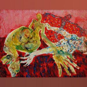 Art, Paintings for sale, Картини за продажба,Happy in love (Щастливо влюбени)