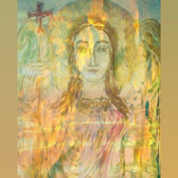 Art, Paintings for sale, Картини за продажба,Arhangel Mihail (Архангел Михаил )