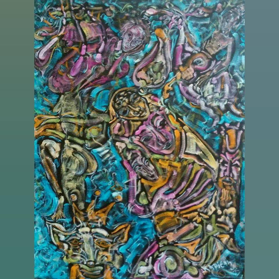 Art, Paintings for sale, Картини за продажба,Nothing is permanent (Нищо не е постоянно)