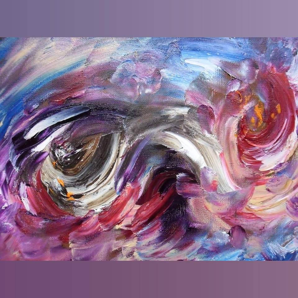Art, Paintings for sale, Картини за продажба,Divine Typhoon (Божествен тайфун)