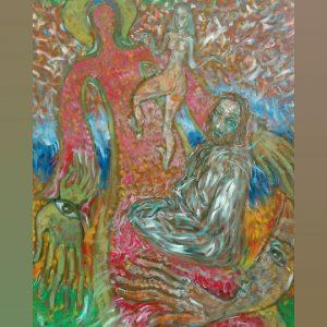 Art, Paintings for sale, Картини за продажба,Тhe first sin (Първият грях)