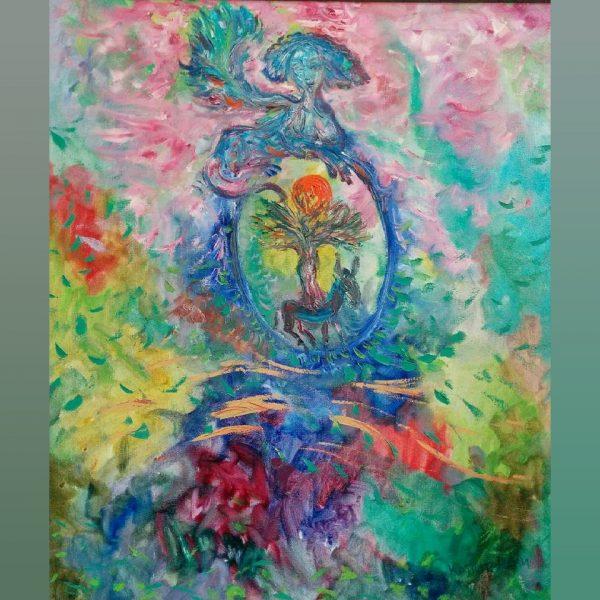 Art, Paintings for sale, Картини за продажба,Meeting of the Worlds (Среща на световете)