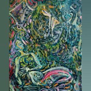 Art, Paintings for sale, Картини за продажба,Never give up (Никога не се отказвай)
