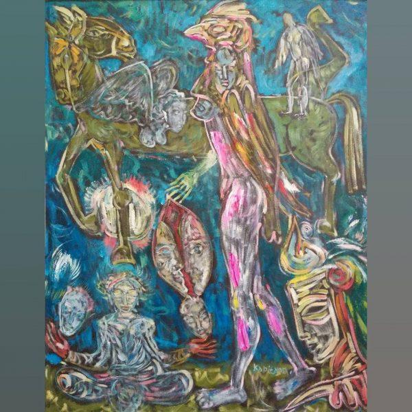 Art, Paintings for sale, Картини за продажба,Natural Balance (Природно равновесие)
