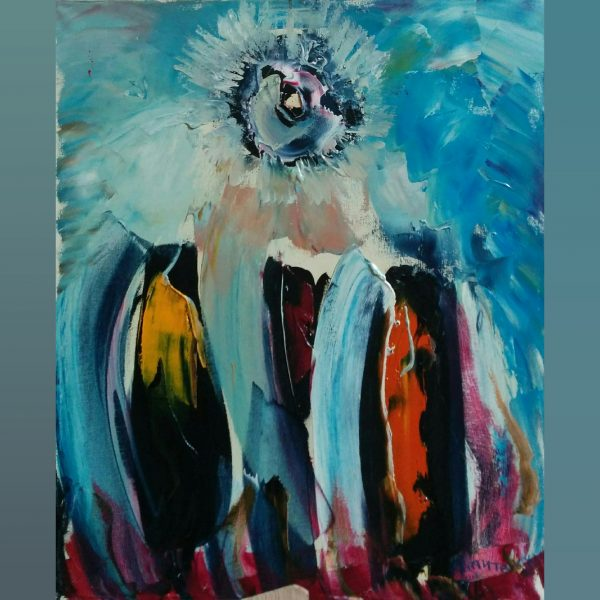 Paintings for sale, Картини за продажба, The Blue sun (Синьото слънце)