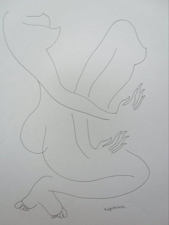 The perfect line (Перфектната линия) The separation of body (Отделянето на тялото)