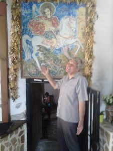 Fresko St.George in Zlatolist