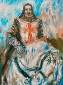 History of…Richard the Lionheart. A painting by Plamen Kapitanski by Hermien JD, music composer