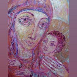Blessed Virgin Mary with child (Св.Дева Мария с младенеца)