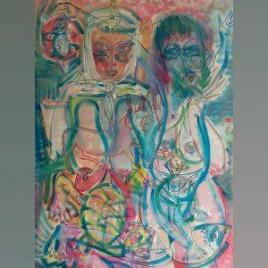 Art, Paintings for sale, Картини за продажба, The Wedding (Сватбата)
