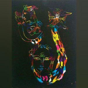 Drawings for sale, Рисунки за продажба,Mermaid (Русалка)