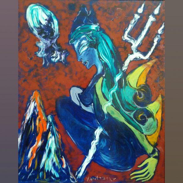 Paintings for sale, Картини за продажба,Тhe woman guardian (Пазителката)