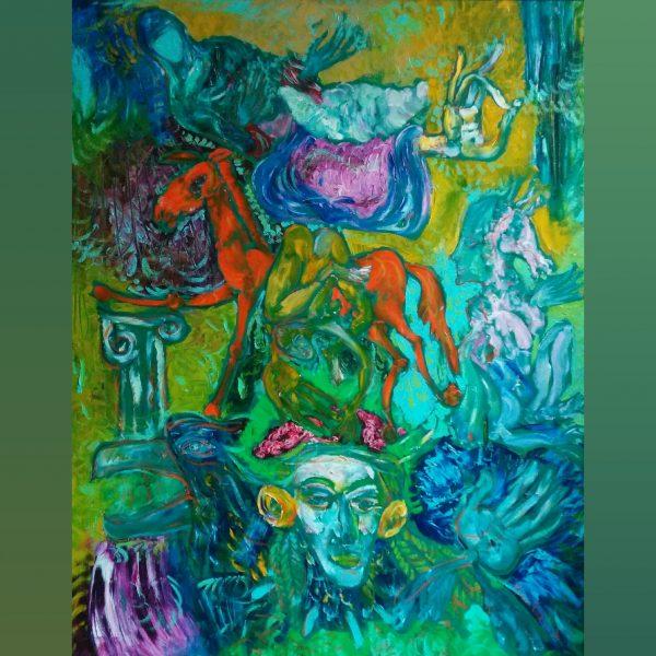 Paintings for sale, Картини за продажба, One Thousand and One Nights (Хиляда и една нощи)