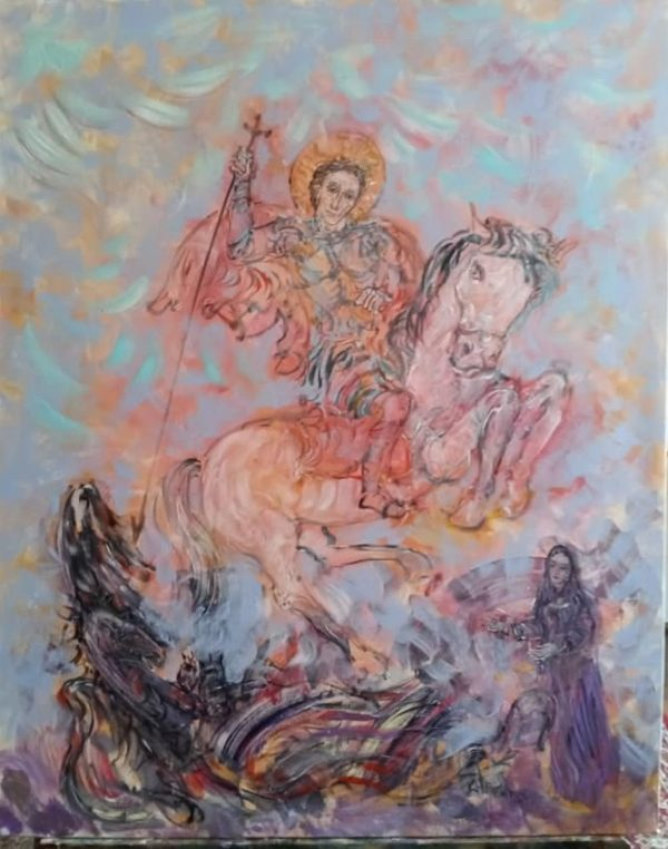 Свети Георги и Преподобна Стойна